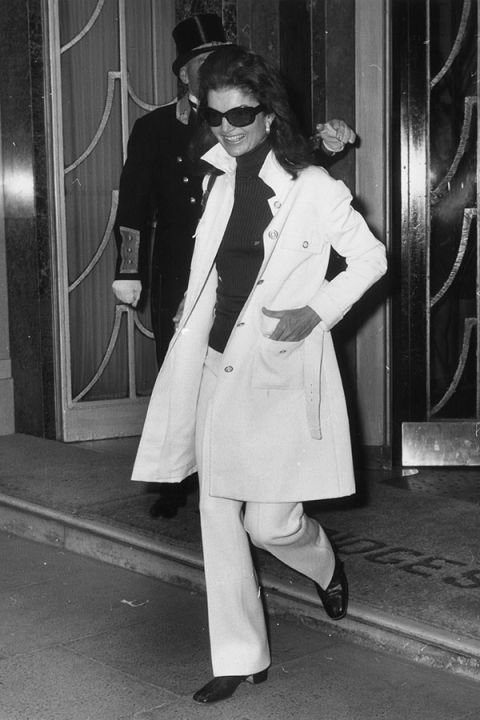 Jackie Kennedy Onassis, 1970