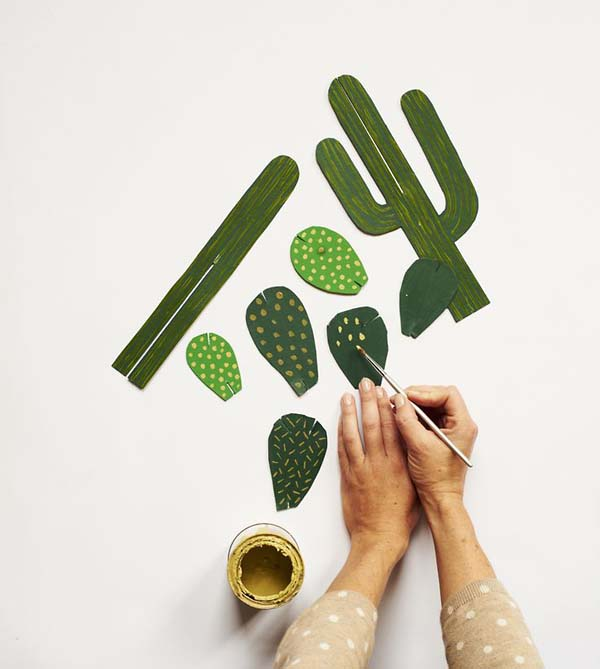 Forever cactus-workshop with Beci Orpin at Koskela
