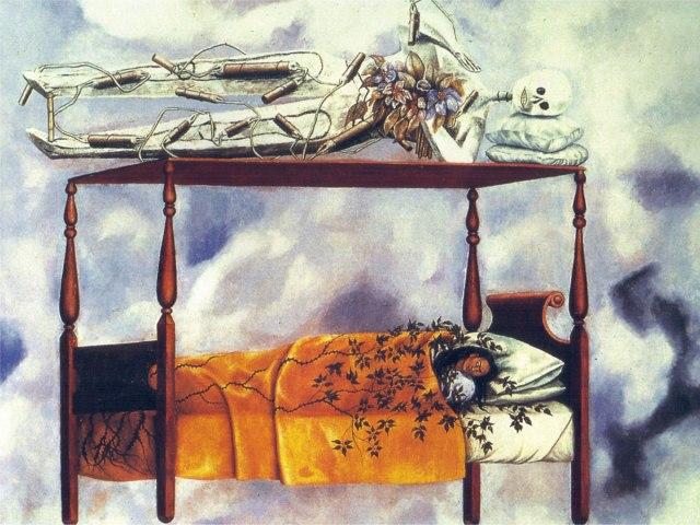 Il-Sogno-Il-Letto-Frida-Kahlo