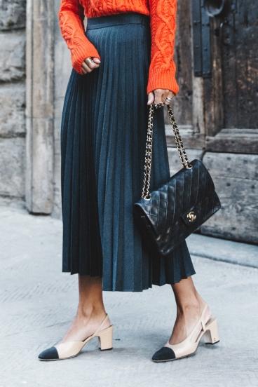 zara scarpe bicolore chanel mid heel shoes haul vita su marte 07