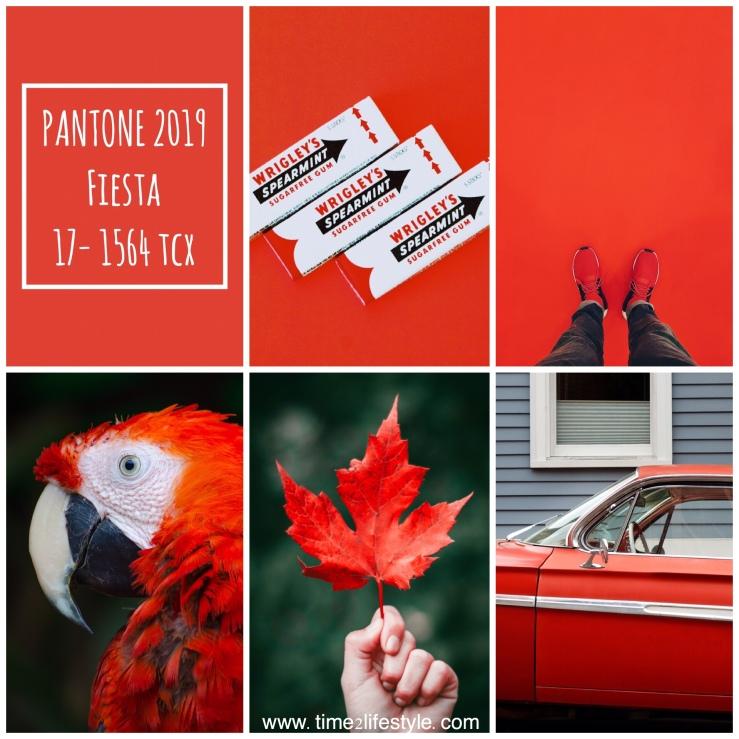 Time2lifestyle Pantone colors 2019 fiesta