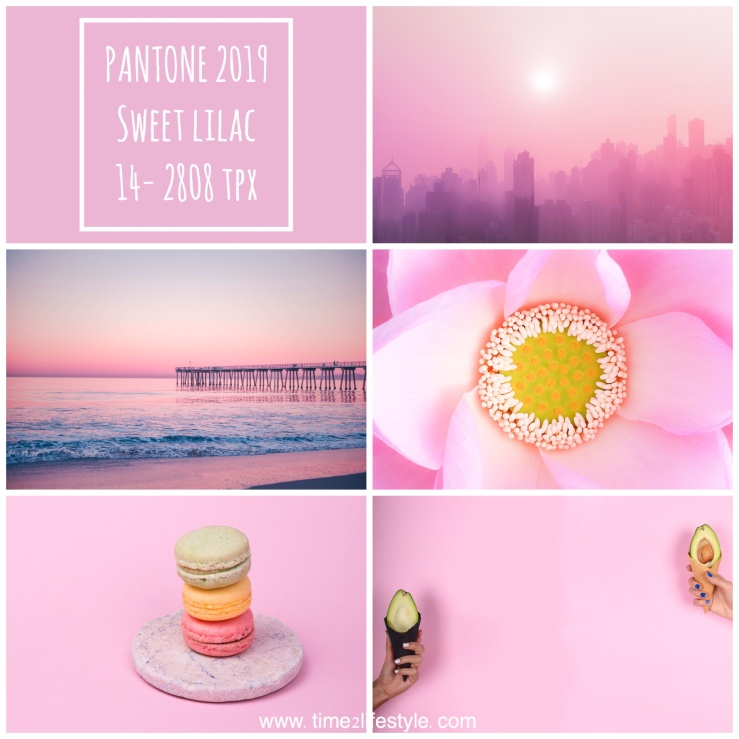 Time2lifestyle Pantone colors 2019 sweet lilac