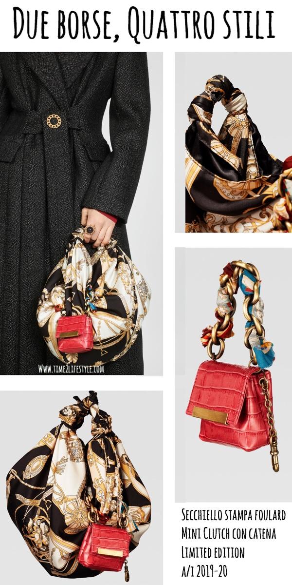 Borse Zara limited edition autunno inverno 2019-20