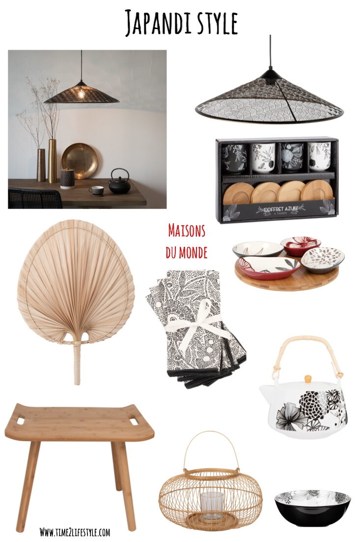Japandi style, the mix between Scandinavian and Japanese style.